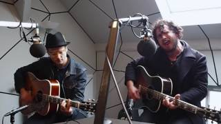 "Augustines ""Are We Alive"" live (acoustic) @FluxFM"