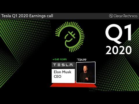 Tesla Q1 2020 Earnings Call (shortened fixed version)