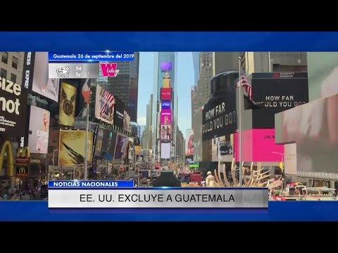 Guatemala queda fuera de la lotería de visas que otorga Estados Unidos | 26Sep