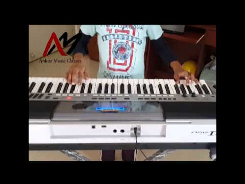 Ankur Music Classes - Keyboard Student...