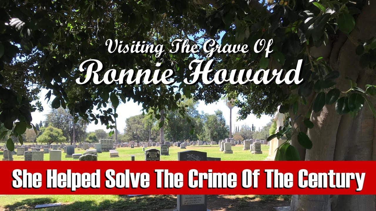FAMOUS GRAVE: Ronnie Howard--The Woman Who Helped Solve The Manson Murders  (Odd Fellows Cemetery)