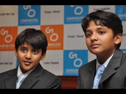India's Youngest 15 & 14 Year Old CEO's Talk About Their Sto