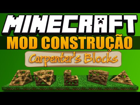 Minecraft MOD   Carpenter's Blocks (1.7.10)