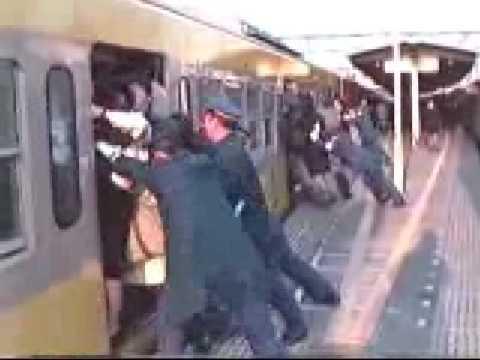 Смотреть ролики японцы в метро 4 фотография