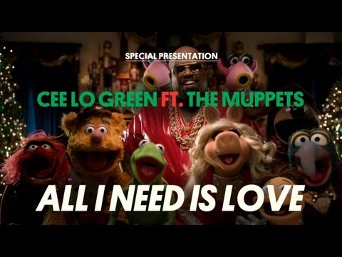 CeeLo Green: All I Need Is Love [sent 1,822 times]