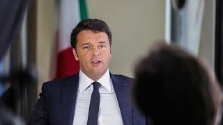 Renzi: We Must Avoid a New Libya in Syria