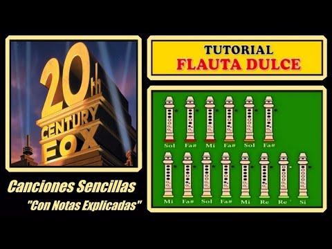 20th Century Fox Theme  Recorder Notes Tutorial
