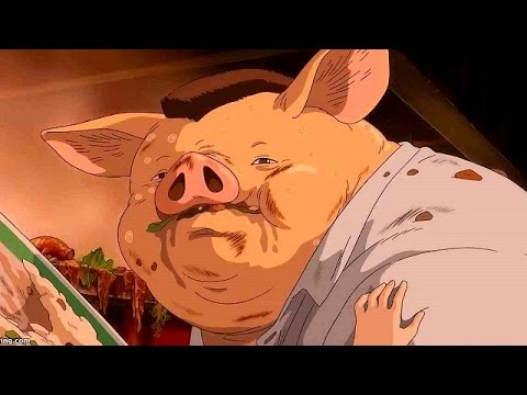 Spirited Away A Reason Chihiro S Parents Was Pig Youtube