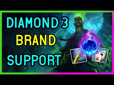 ZOMBIE BRAND SUPPORT DIAMOND 3 - League of Legends