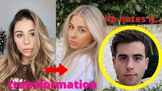 my boyfriend didn't like my transformation..