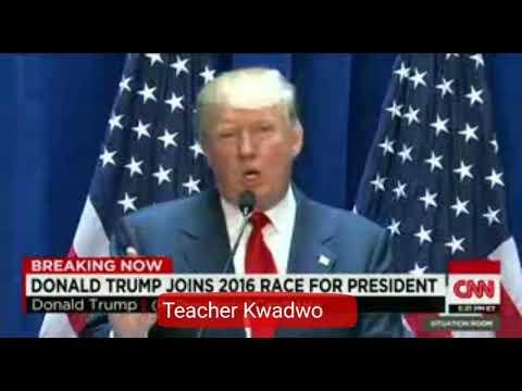 Teacher Kwadwo slams Donald J. Trump and makes him apologize to Africa