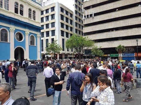Sismo de magnitud 5.9 se sintió en varias zonas de Ecuador