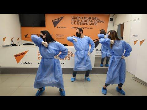 Флешмоб-танец сотрудников Sputnik Армения