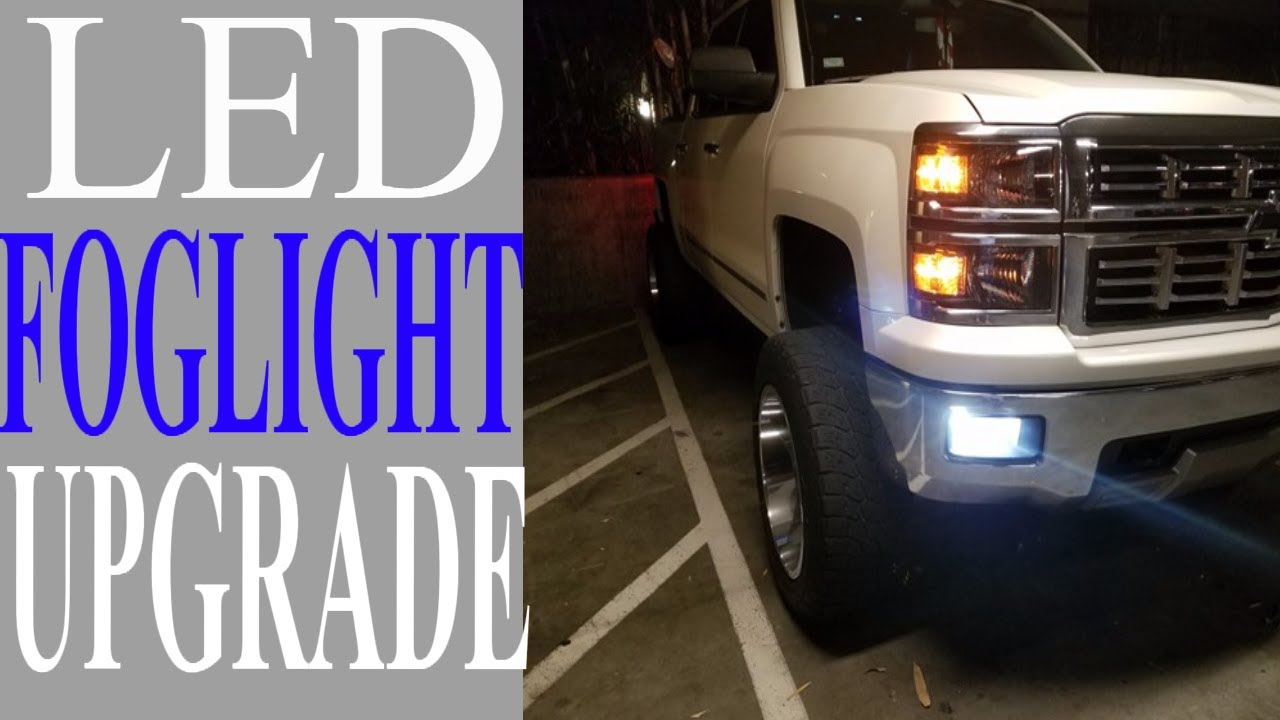 2014 2015 Silverado Led Fog Light Installation Step By Chevy Lights