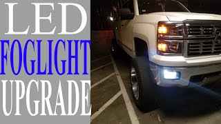 2014 - 2015 Silverado LED FOG LIGHT INSTALLATION (STEP BY STEP)