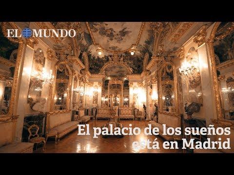 Museo Cerralbo. El palacio de los sueños está en Madrid. 4k