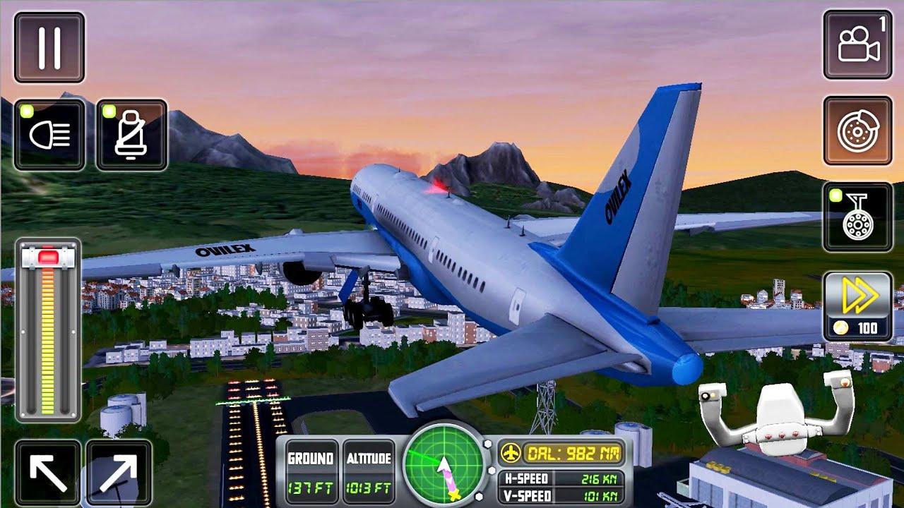 Flight Sim 2018 #4 - Flight to Dallas Airplane Simulator ...