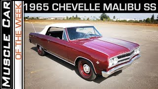 1965 Chevelle SS Convertible: Muscle Car Of The Week Video Episode 233 V8TV