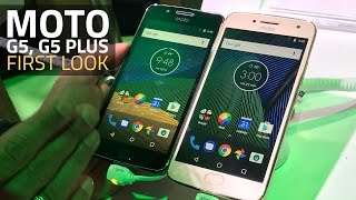Moto G5, Moto G5 Plus First Look | Specs, Availability, and More
