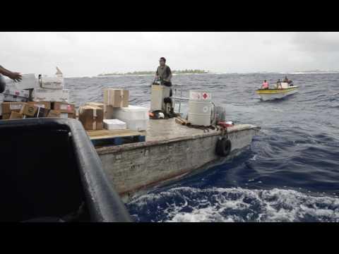 COBIA III : livraison dans le Pacifique