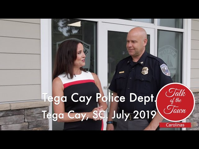 Tour The New Tega Cay Police Station