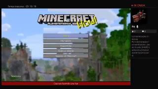 Live di minecraft ps4