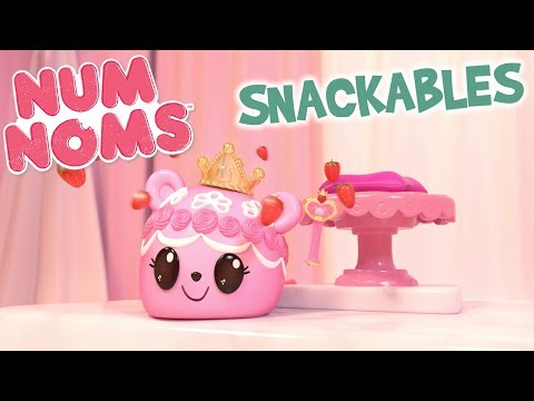 Princess Buttercream's Cutest-Ever Crowning | Num Noms Snackables | Webisode #1 Season 2