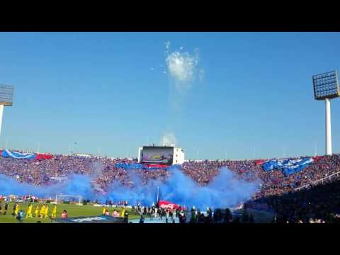 Salida UNIVERSIDAD DE CHILE vs San Luis de Quillota
