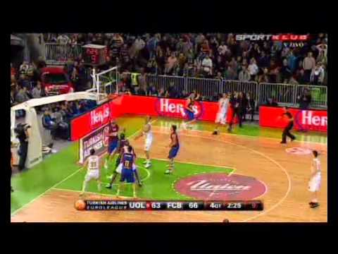 Euroleague: Union Olimpija vs. Barcelona    (67 - 68)
