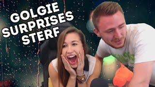 Golgie Surprises Sterf in SF (Stream Highlight) // FemSteph