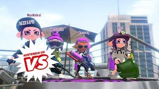 Splatoon 2 - Nintendo UK VS Live - Octo League semi finals and Grand Final