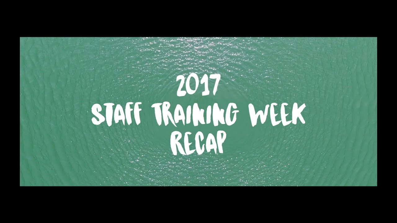 2017 Training Week Recap