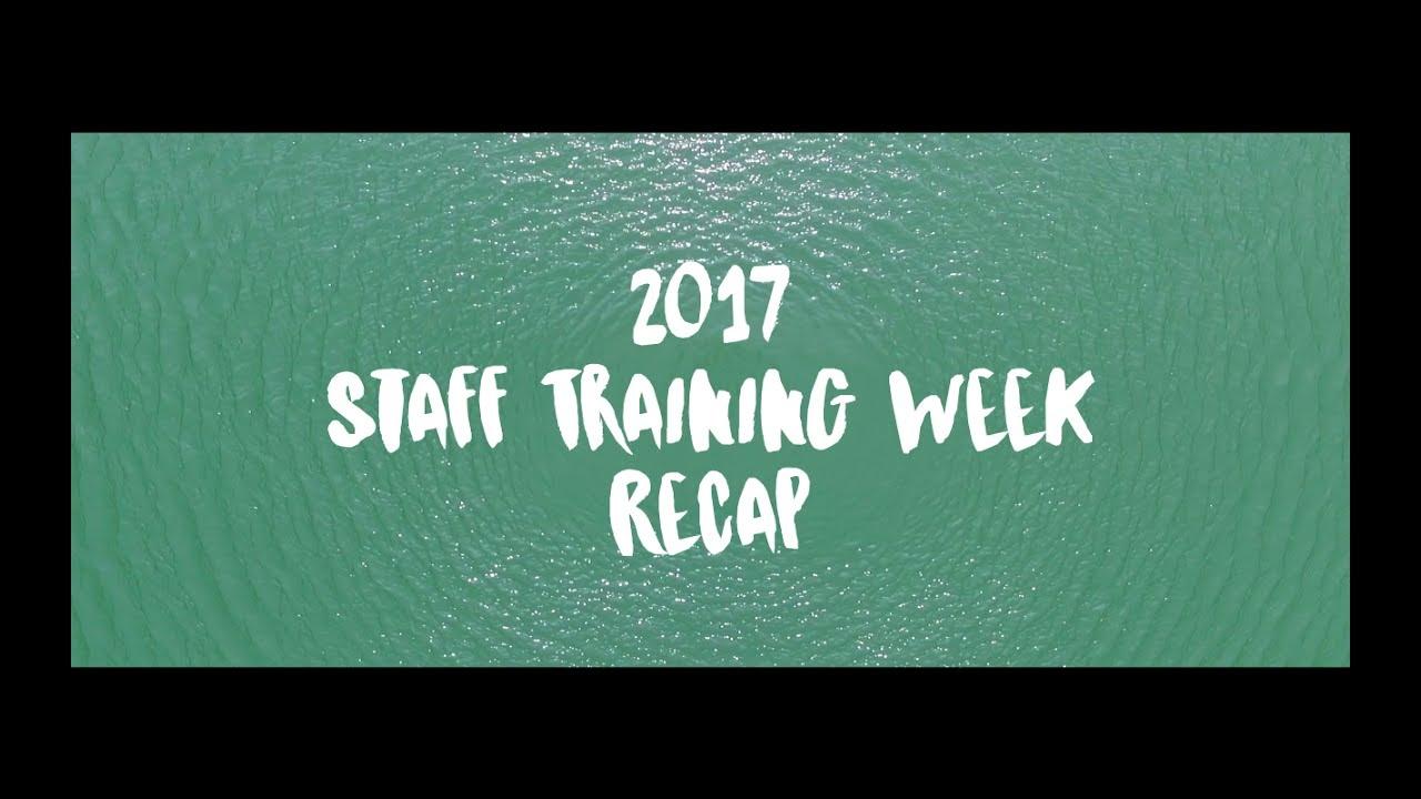 2017 Training Week Recap