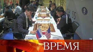 Мужская сборная России по шахматам досрочно выиграла командный Чемпионат мира.