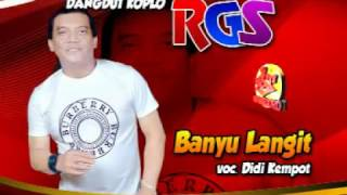 Video Banyu Langit-Didi Kempot-Dangdut Koplo RGS download MP3, 3GP, MP4, WEBM, AVI, FLV Juli 2018