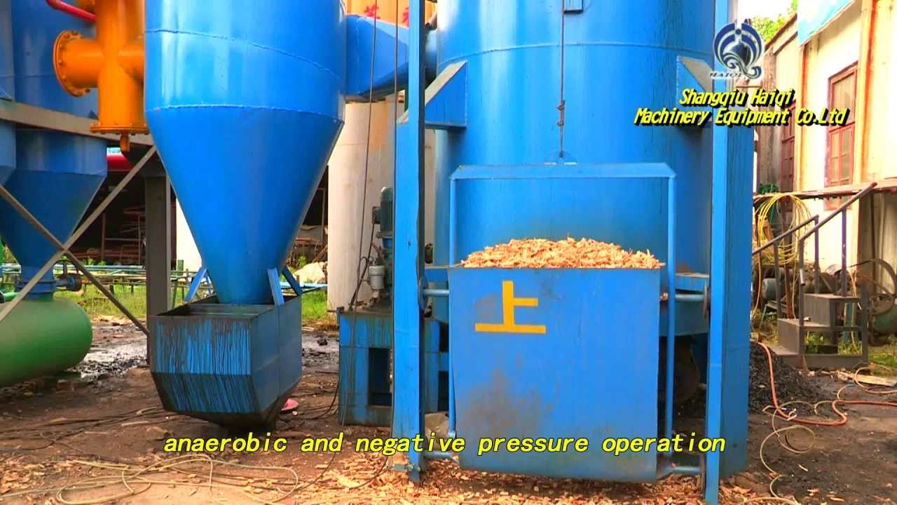 300kw Biomass Power Plant Gasifier How Electricity Generation From Works Youtube