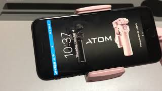 Atom: A pocket-sized 3-axis smartphone gimbal basic tutorial video