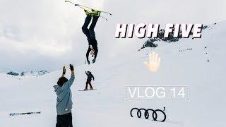 HUGE HIGH FIVE at Audi Nines| VLOG 14