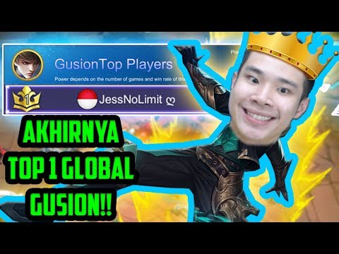 AKHIRNYA TOP 1 GUSION GLOBAL!! **noclickbait** - Mobile Legends