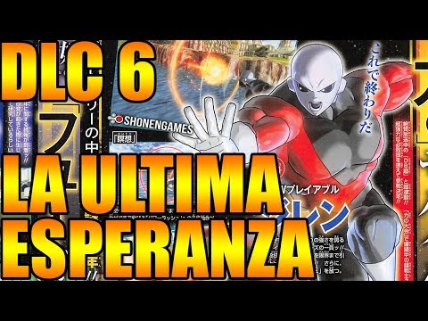 AL FIN REVELADO EL DLC 6 SUPER SAIYAN BLUE JIREN Y 17 Dragon Ball Xenoverse 2
