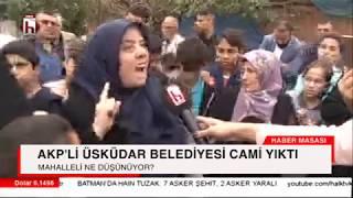 Kesin izleyin! Halk TV AKP'nin yıktığı camiye gitti! Mahalleli isyan ediyor