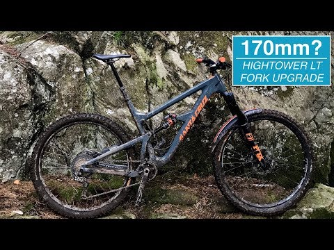 Should you fit a 170mm Fork on a Hightower LT?