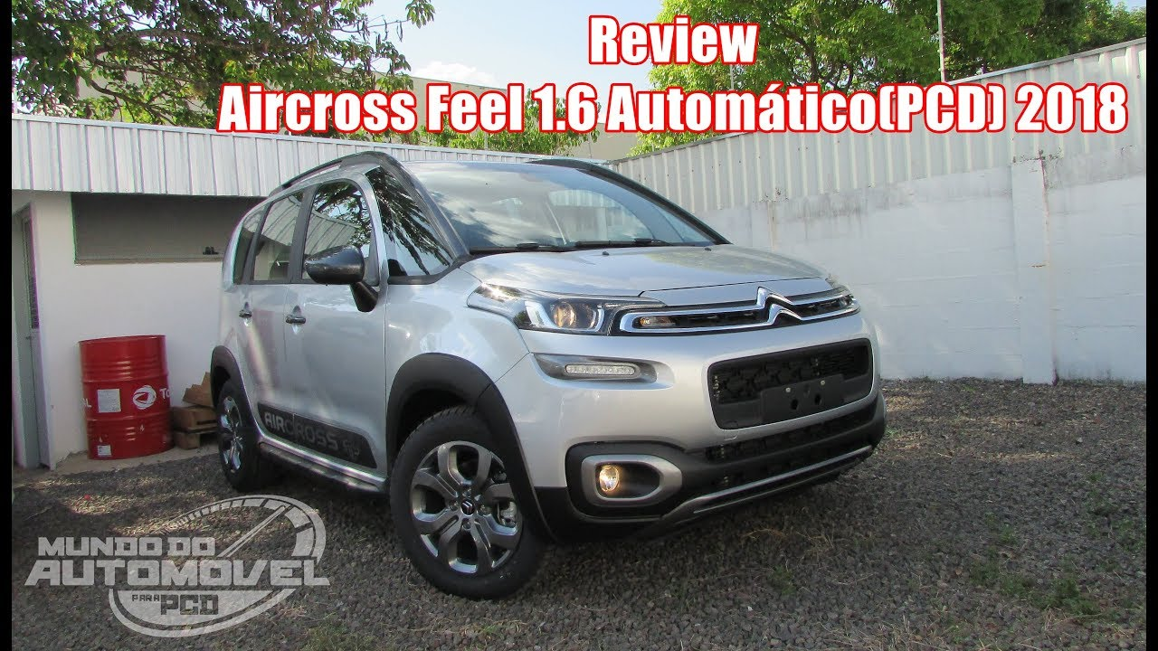 review aircross feel 1 6 auto6 2018 pcd youtube rh youtube com