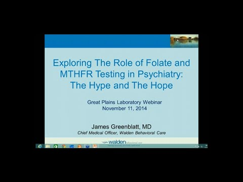 Exploring The Role of Folate and MTHFR Testing in Psychiatry