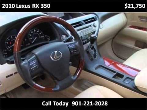 2010 lexus rx 350 used cars olive branch ms - youtube