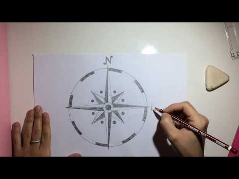 Compass Rose Rosa De Los Vientos 5º Primaria Arts And Crafts