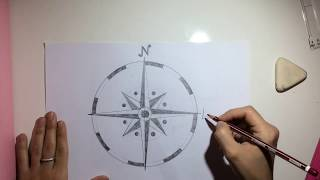 Compass Rose (Rosa de los vientos) 5º Primaria - Arts and Crafts