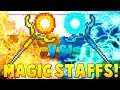 MAGIC STAFFS MOD Dark Magic Spells | Minecraft - Mod Battle