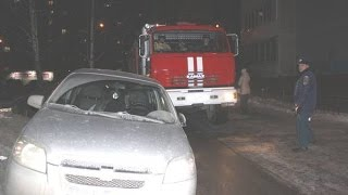Пожежна машина не змогла проїхати до місця пожежі з-за припаркованих авто