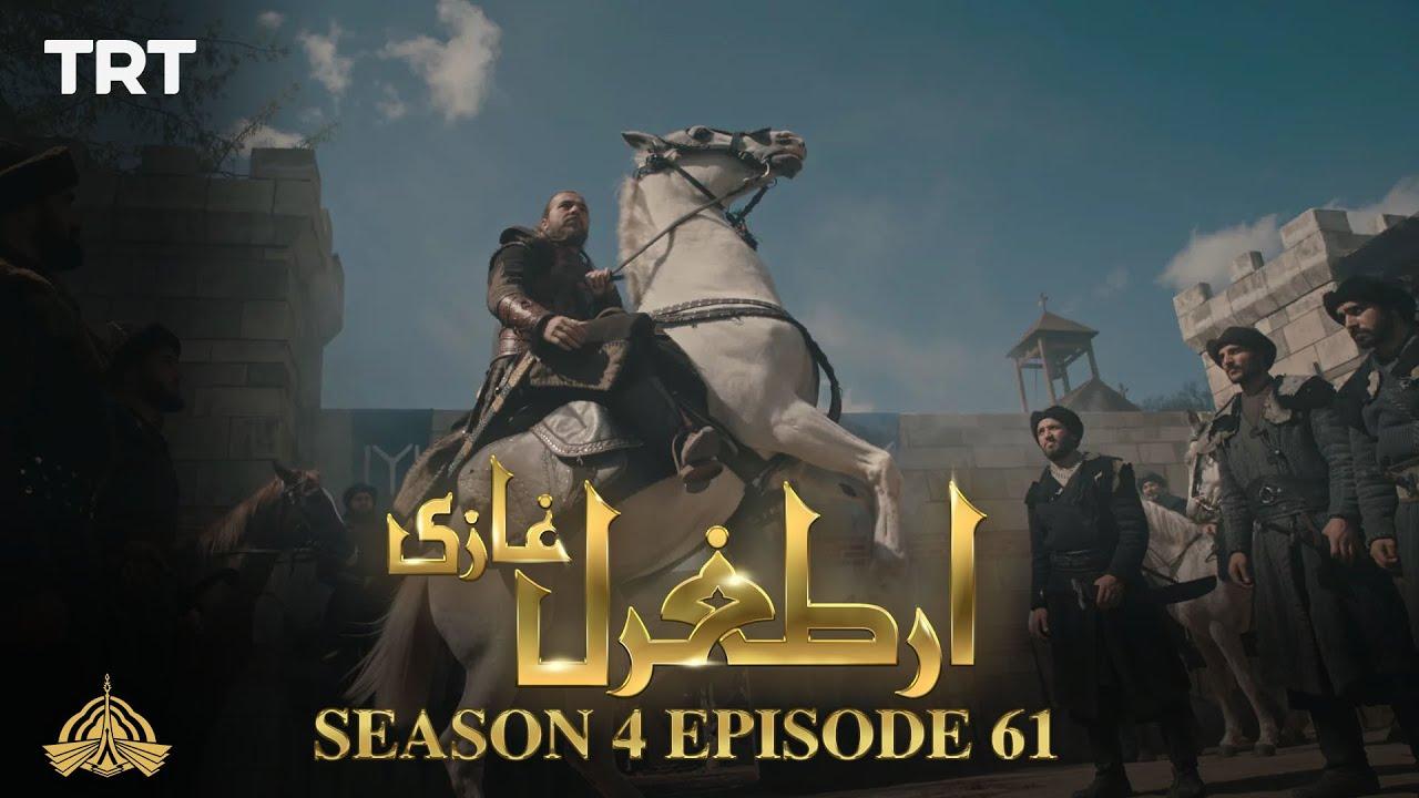 Ertugrul Ghazi Urdu   Episode 61  Season 4